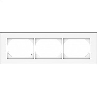 Рамка для выключателя Vilma 4779101510300 (белый)