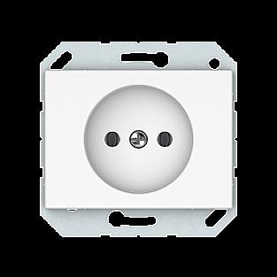 Розетка без заземления Vilma 4779101110388 (белый)