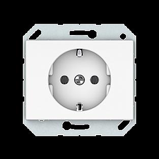 Розетка с заземлением Vilma 4779101110401 (белый)