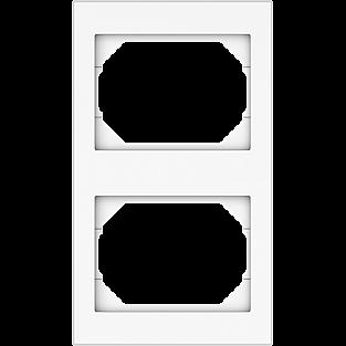Рамка для выключателя Vilma вертикальная 4779101510331 (белый)