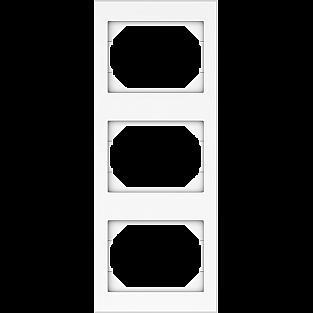 Рамка для выключателя Vilma вертикальная 4779101510393 (белый)