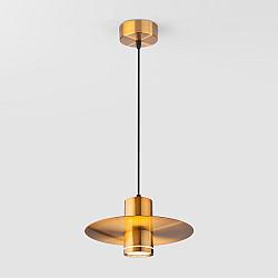 Светодиодный подвесной светильник 50155/1 LED бронза
