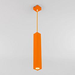 Светодиодный подвесной светильник 50154/1 LED оранжевый
