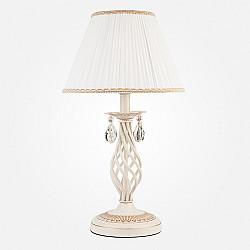 Настольная лампа 10054/1 белый с золотом