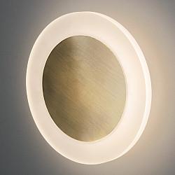 Настенный светодиодный светильник 40140/1 LED бронза