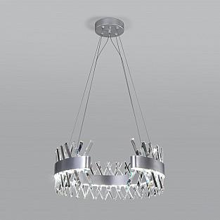 Подвесная светодиодная люстра с хрусталем 432/1 Strotskis