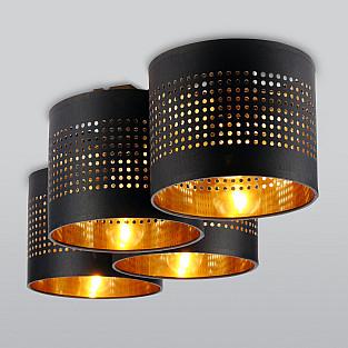 Потолочный светильник 852 Tago black