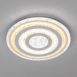 Светодиодный потолочный светильник с пультом управления 90161/1 белый