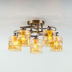 Потолочный светильник 30158/5 античная бронза