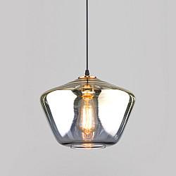 Подвесной светильник со стеклянным плафоном 50199/1 золото
