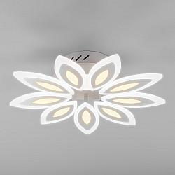 Потолочный светодиодный светильник с пультом управления 90158/9 белый