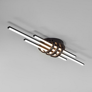Потолочный светодиодный светильник с пультом управления 90243/3 кофе