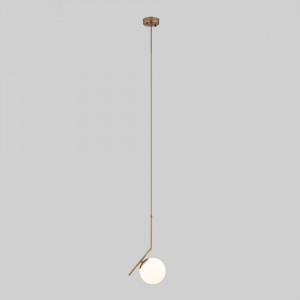 Подвесной светильник с длинным тросом 50159/1 латунь