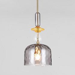 Подвесной светильник со стеклянным плафоном 50193/1 дымчатый