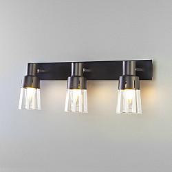 Настенный светильник с выключателем 20081/3 черный