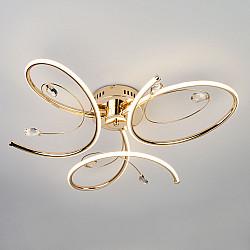 Светодиодный потолочный светильник 90099/3 золото