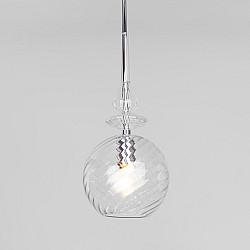 Подвесной светильник со стеклянным плафоном 50192/1 прозрачный