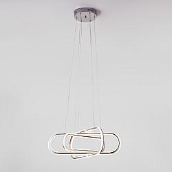 Светодиодный подвесной светильник 90172/6 хром