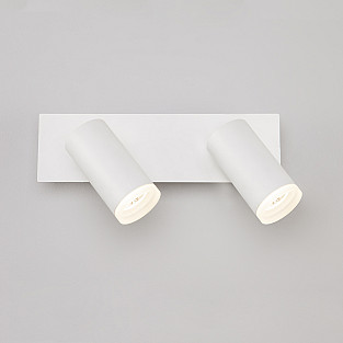 Светодиодный настенный светильник с поворотными плафонами 20067/2 белый