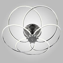 Светодиодный потолочный светильник 90039/5 хром