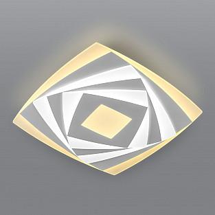 Потолочный светодиодный светильник с пультом управления 90213/1 белый