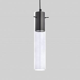 Подвесной светильник со стеклянным плафоном 3146 Look Graphite