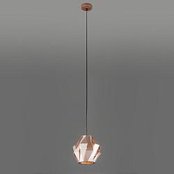 Подвесной светильник с длинным тросом 50157/1 золото