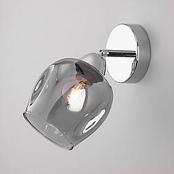 Бра со стеклянным плафоном 30164/1 хром