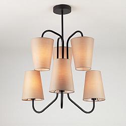 Подвесной светильник в стиле лофт 70060/6 черный