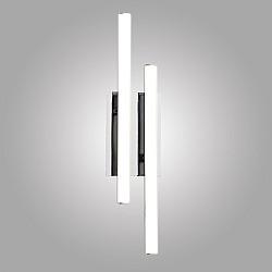 Светодиодный настенный светильник 90020/2 хром
