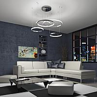 Светодиодные подвесные светильники с пультом управления серии Posh от Eurosvet